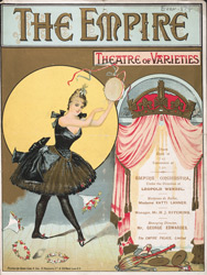 Advert for the Empire Theatre